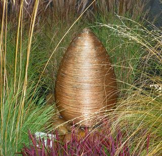 Copperwireeggwaterfeature