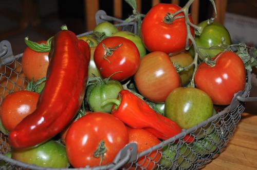 Tomato&pepperbasket