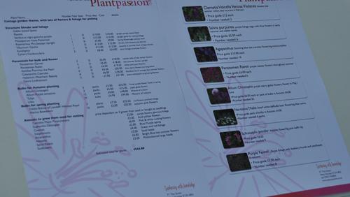 Plantinglists