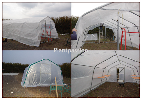 Day 2 of polytunnel building-2