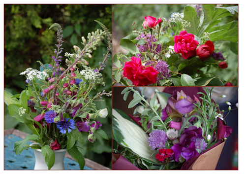 June flower posies-2