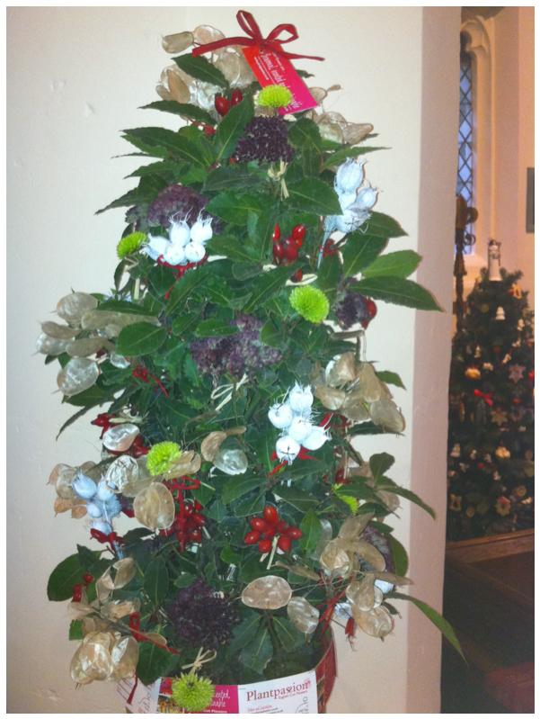 Christmas festival tree