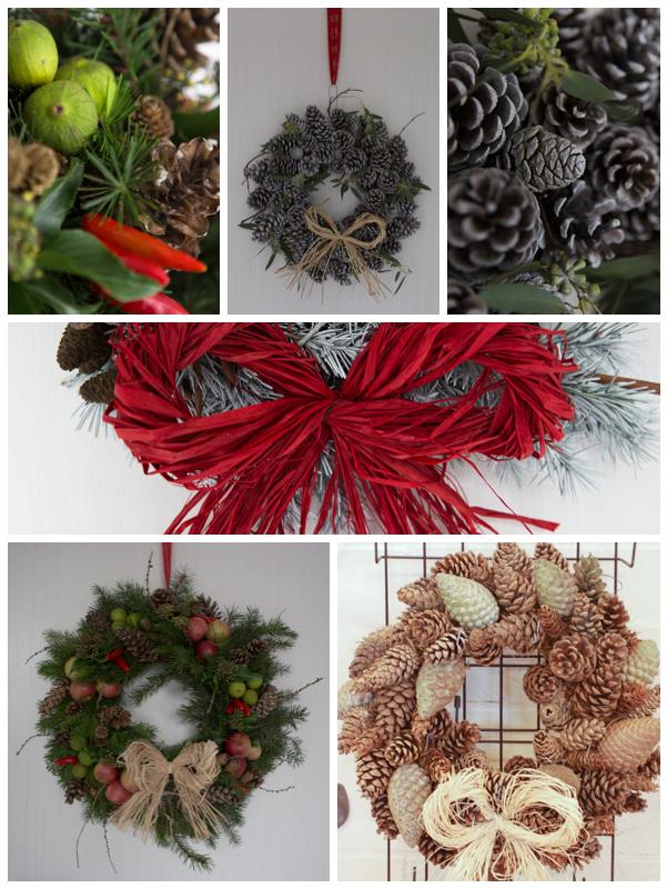 Wreaths montage