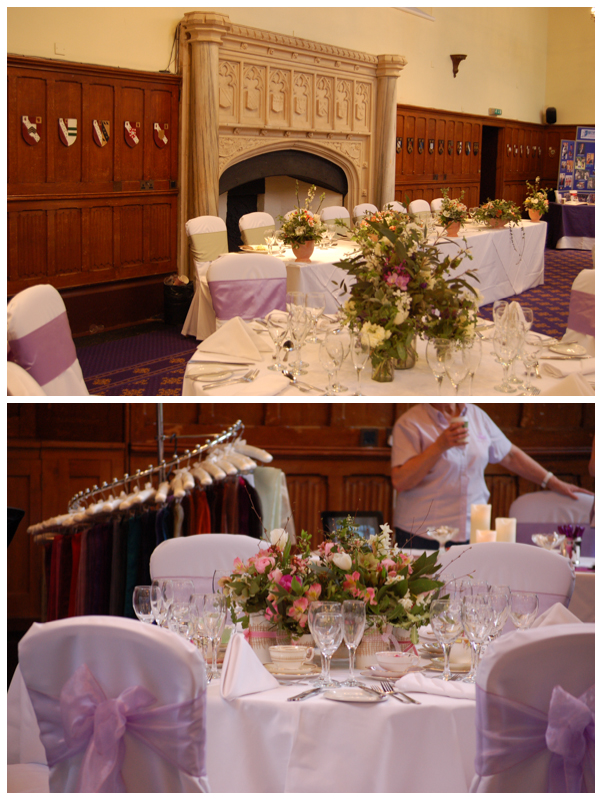 Fireplace wedding fair