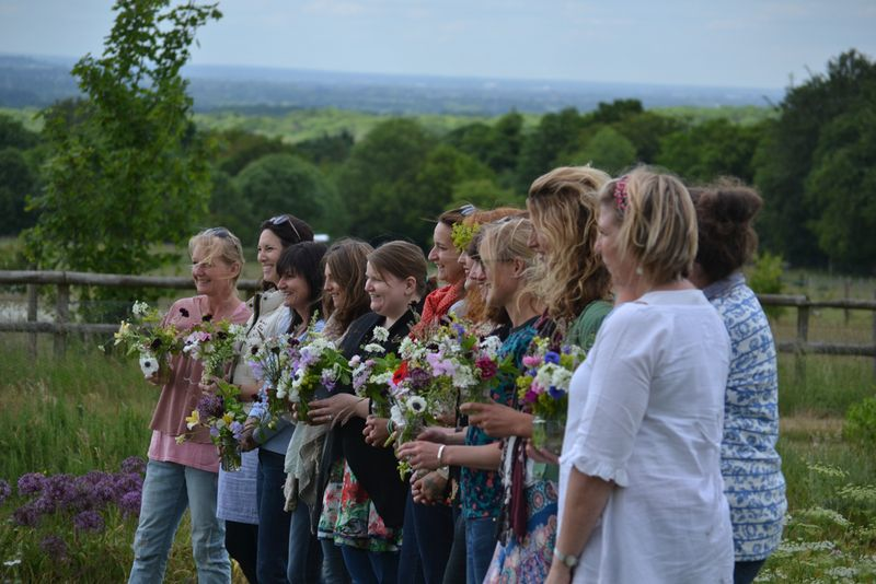 Florists jam jar open day