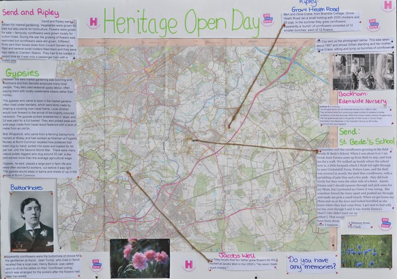 Heritage open days board
