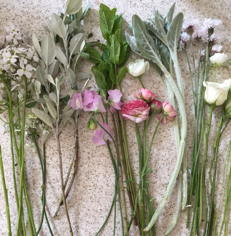Bouquet ingredients-1