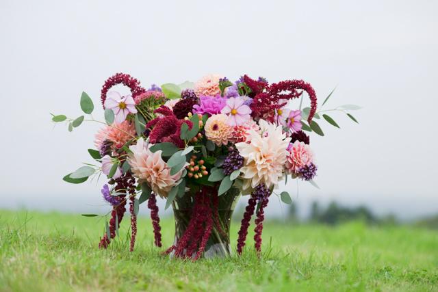 Mary amaranthus vase